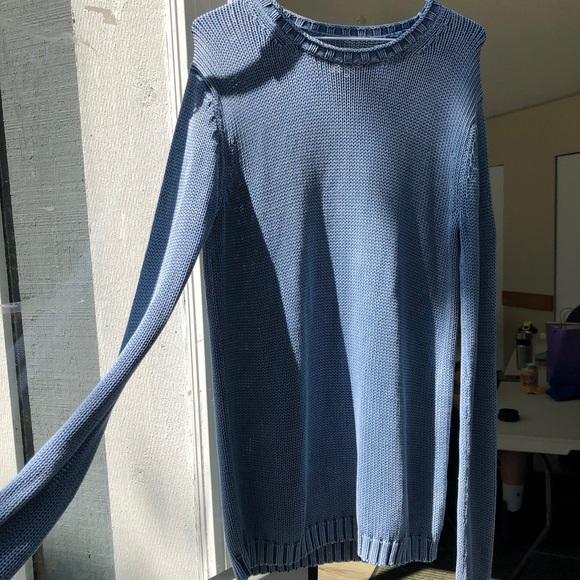 Blue Knit TNA Sweater